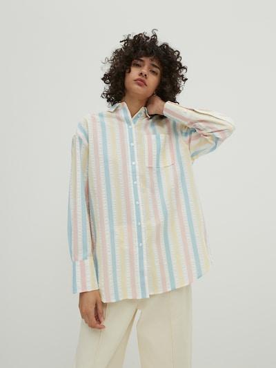 Camicia da donna 'Gianna' EDITED di colore blu chiaro / giallo chiaro / rosa / bianco naturale, Visualizzazione modelli