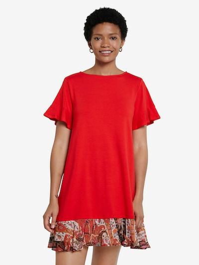 Desigual Kleid 'KALI' in mischfarben / rot, Modelansicht