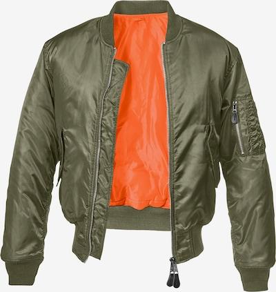 Brandit Accessoires ' MA1 Bomber Jacket ' in oliv, Produktansicht