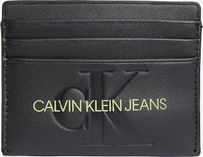 Calvin Klein Jeans Porte-monnaies en citron vert / noir, Vue avec produit