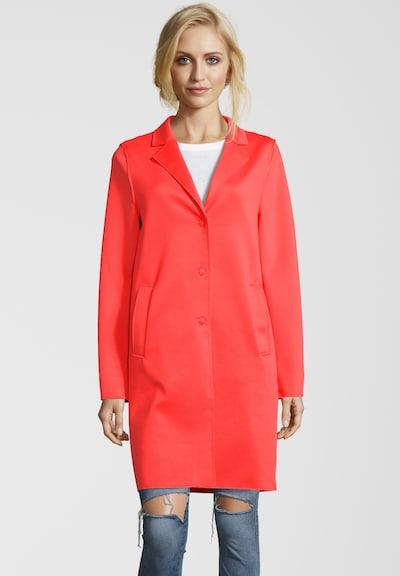 BLONDE No. 8 Mantel 'LEON N' in orange / rot / neonrot, Modelansicht