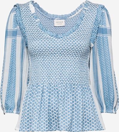 Cecilie Copenhagen Bluza 'Sandra' u plava / bijela, Pregled proizvoda