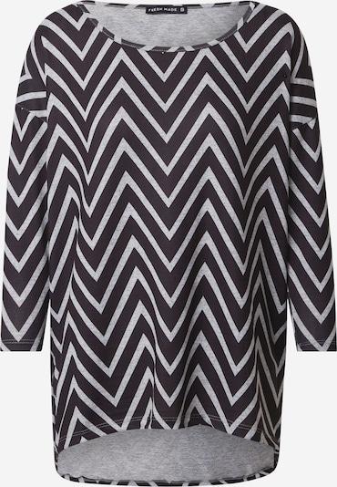Sublevel Тениска в сив меланж / черно, Преглед на продукта