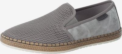 Papuci de casă RIEKER pe gri, Vizualizare produs