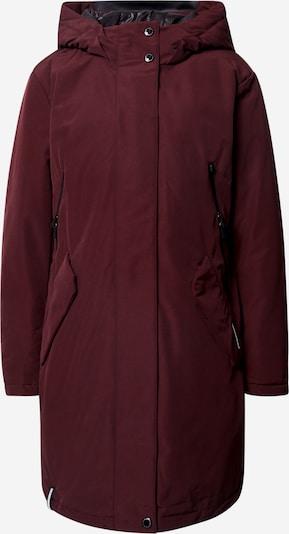 khujo Manteau d'hiver 'Charlyn' en lie de vin, Vue avec produit