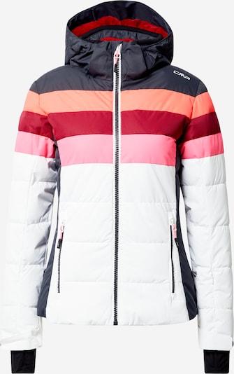 CMP Zunanja jakna | temno modra / roza / temno rdeča / bela barva, Prikaz izdelka