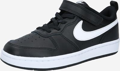 Sneaker 'Court Borough' Nike Sportswear pe negru / alb, Vizualizare produs