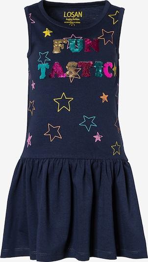 LOSAN Kleid in dunkelblau / mischfarben, Produktansicht