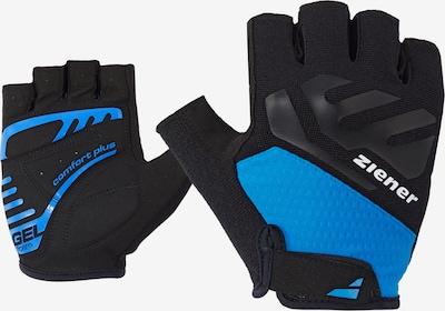ZIENER Fahrrad-Handschuhe 'CAECILIUS' in blau, Produktansicht