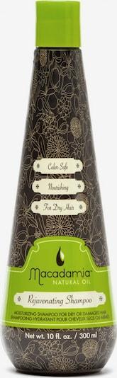 Macadamia Haarshampoo 'Rejuvenating' in creme / braunmeliert / grün, Produktansicht