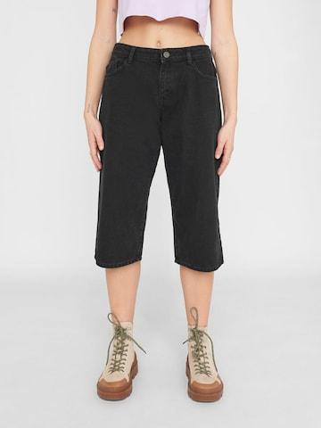 Noisy may Jeans 'NMMANDY' in Zwart