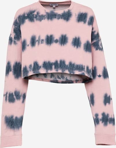 Public Desire Sweat-shirt en marine / rose, Vue avec produit