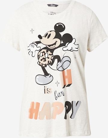 PRINCESS GOES HOLLYWOOD Shirt 'Disney Mickey Happy' in Grey