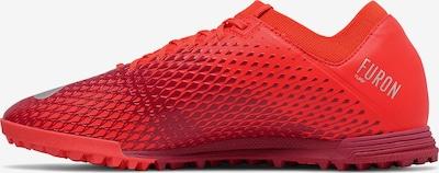 new balance Fußballschuh in grau / rot, Produktansicht