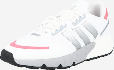 Sneaker low ADIDAS ORIGINALS pe gri / roșu pastel / alb, Vizualizare produs