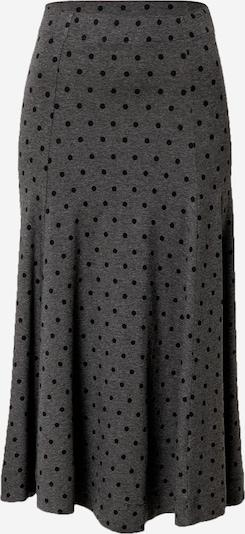 Masai Rok in de kleur Grijs gemêleerd / Zwart, Productweergave