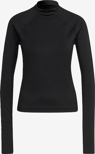 ADIDAS PERFORMANCE Funktionsshirt 'Karlie Kloss' in schwarz / weiß, Produktansicht