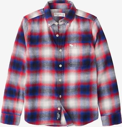 Abercrombie & Fitch Camisa en azul oscuro / granadina / blanco, Vista del producto