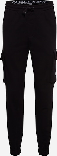 Calvin Klein Jeans Cargobroek in de kleur Zwart / Wit, Productweergave
