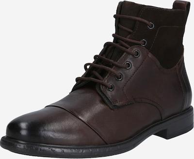 GEOX Čizme na vezanje u tamno smeđa, Pregled proizvoda