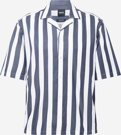 BOSS Hemd in taubenblau / weiß, Produktansicht