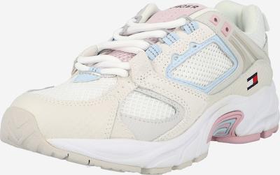 Sneaker low Tommy Jeans pe bej / albastru deschis / roz pastel / alb, Vizualizare produs