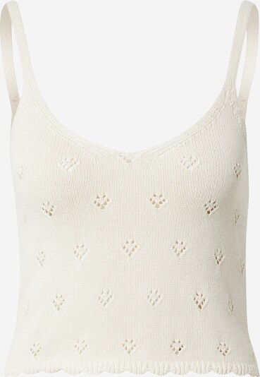PIECES Knitted top 'TRULY' in Wool white, Item view