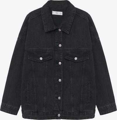 MANGO Jacke 'Seul' in black denim, Produktansicht