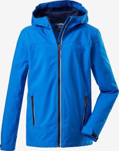 KILLTEC Outdoorová bunda 'Adjero Jr' - modrá / čierna / biela, Produkt