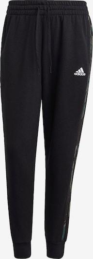 ADIDAS PERFORMANCE Jogginghose 'Essentials' in khaki / schwarz / weiß, Produktansicht