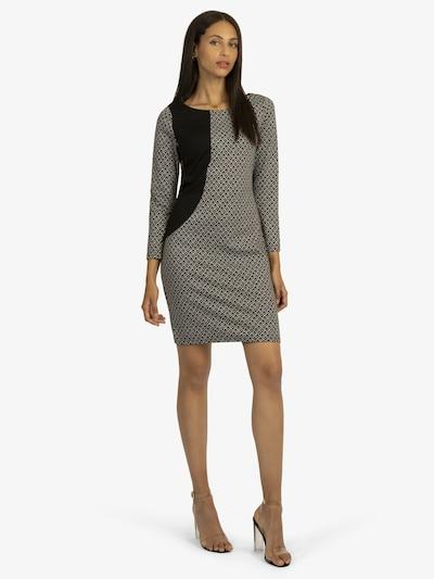 APART Sheath Dress in Black / White, View model