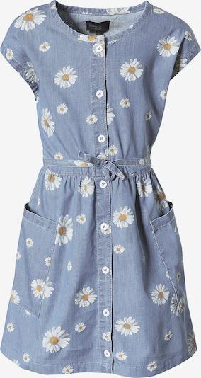 myToys-COLLECTION Kleid in blue denim / gelb / weiß, Produktansicht