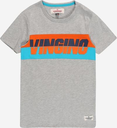 VINGINO Majica 'Harco' u mornarsko plava / neonsko plava / siva melange / tamno narančasta, Pregled proizvoda