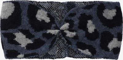 Zwillingsherz Bandeau en bleu-gris / bleu foncé / gris clair, Vue avec produit
