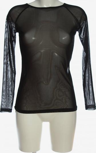Zanzea Transparenz-Bluse in M in schwarz, Produktansicht