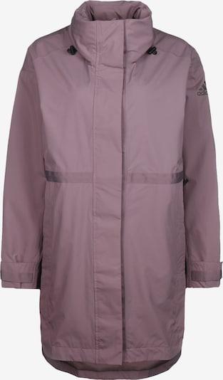lila / fekete ADIDAS PERFORMANCE Kültéri kabátok 'Urban Rain.RDY', Termék nézet