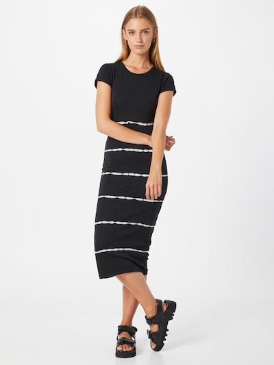 AllSaints Kleid 'Niko' in schwarz / weiß, Modelansicht