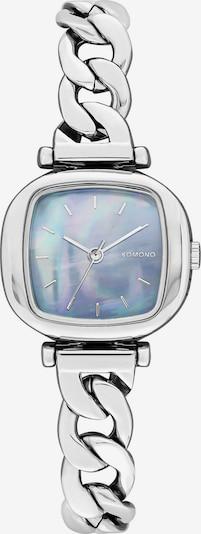 Komono Uhr in hellblau / mischfarben / silber, Produktansicht