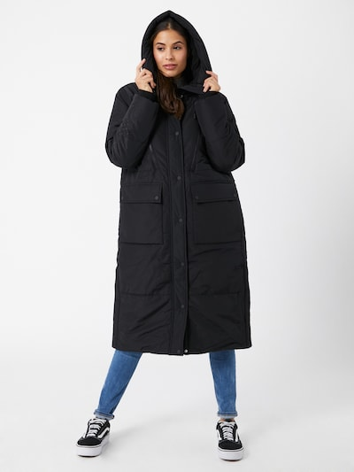 TOM TAILOR DENIM Winter coat in black, View model