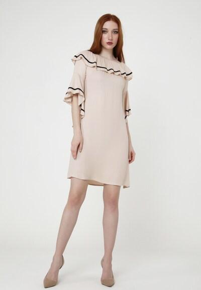 Madam-T Sommerkleid 'SALLY' in beige, Modelansicht