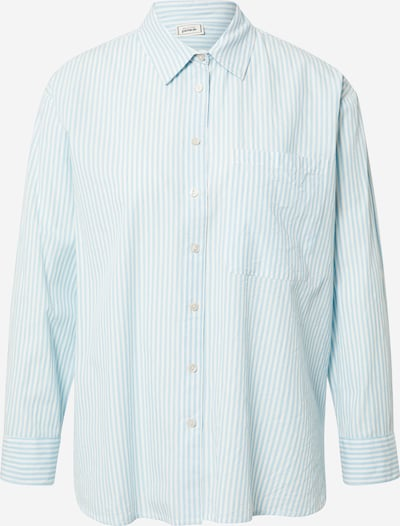 Pimkie Bluse 'SVOPIC' in blau / weiß, Produktansicht