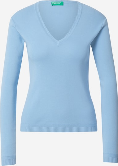 UNITED COLORS OF BENETTON Pullover in hellblau, Produktansicht