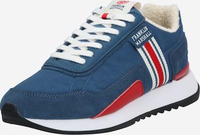 FRANKLIN & MARSHALL Sneaker 'EPSILON' in blau / rot / weiß, Produktansicht