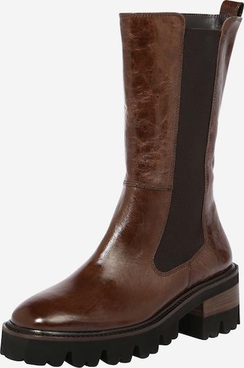Paul Green Μπότες chelsea σε καφέ / μαύρο, Άποψη προϊόντος