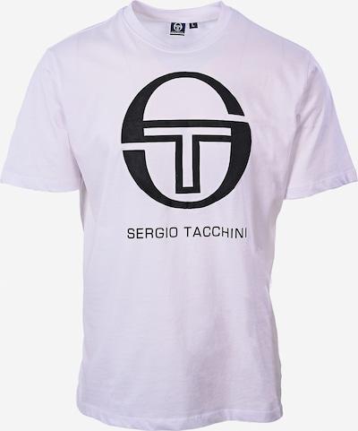 Sergio Tacchini T-Shirt fonctionnel en noir / blanc, Vue avec produit
