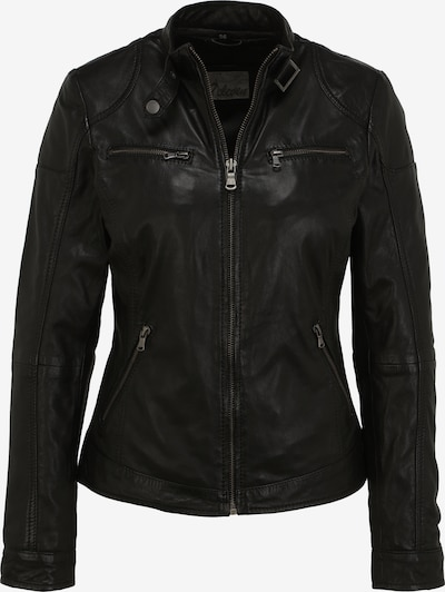 7ELEVEN Lederjacke 'DAGGI' in schwarz, Produktansicht