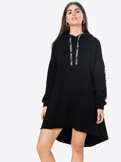 KENDALL + KYLIE Jurk in de kleur Zwart / Wit, Modelweergave