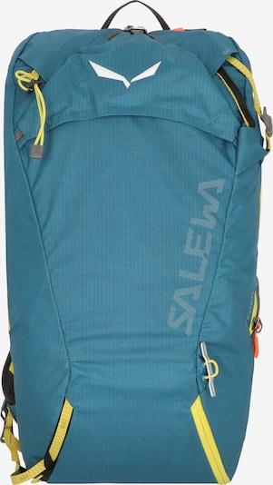 SALEWA Rucksack 'Winter Train' in blau / gelb, Produktansicht
