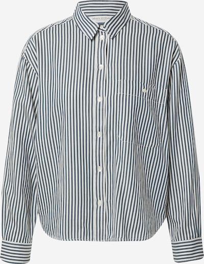 Bluză Marc O'Polo pe albastru marin / alb, Vizualizare produs