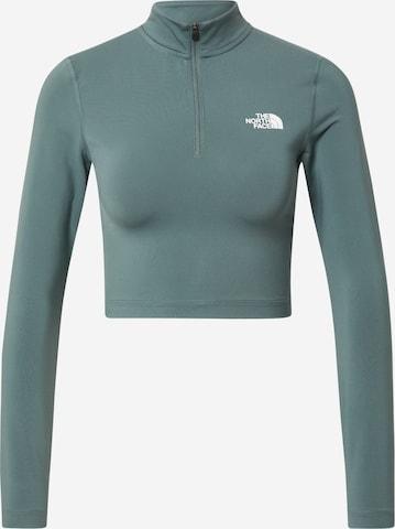 THE NORTH FACE Funksjonsskjorte i grønn